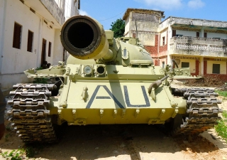 African Union Tank (File Photo)