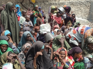 IDPs who fled an earlier looting incident