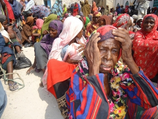 IDPs await aid in Mogadishu