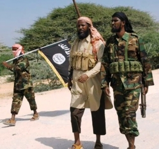 Al-Shabaab leaders march in Kismayo