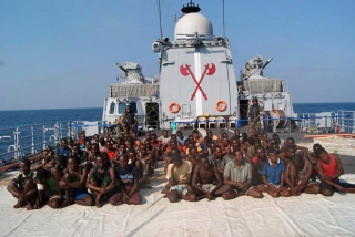 Somalia Pirates Captured by Indian Navy