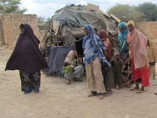 Refugees on the Outskirts of Dadaab
