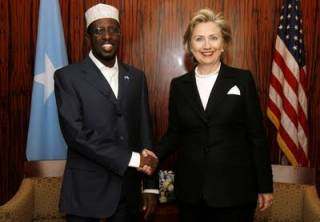 Secretary of State Clinton with President Sharif in 2009