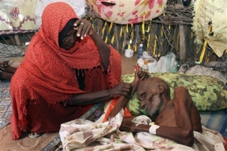 An elderly Somali who sought solace in Mogadishu